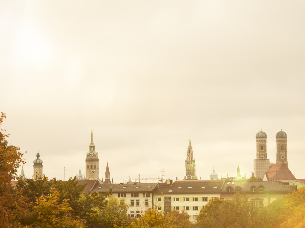Skylines in Munich