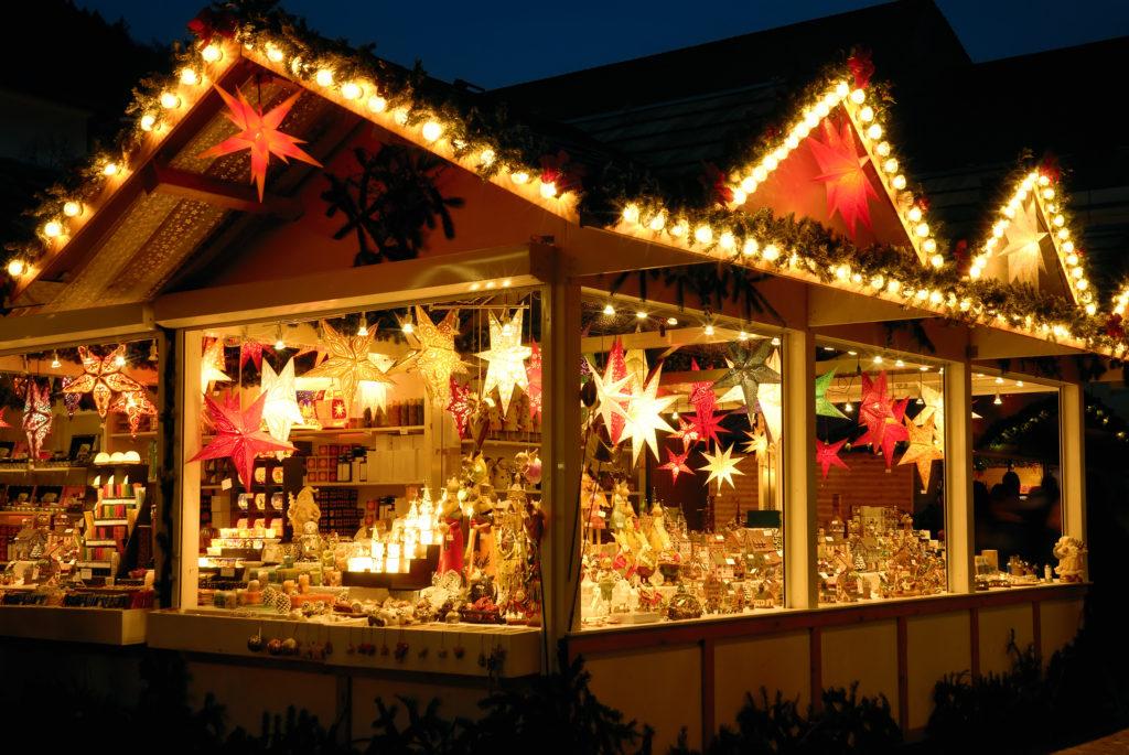 Christmas market, Advent, market stall, handicraft, romantic