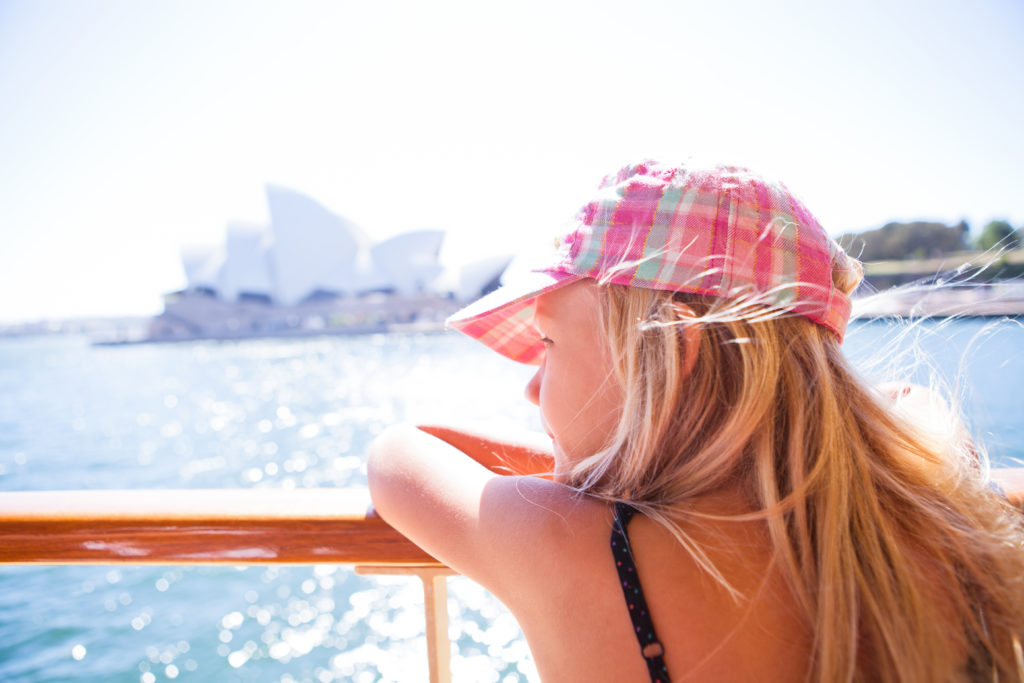 Sydney, opera house, ferry, dreaming