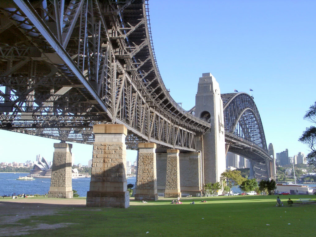 Sydney Harbour Bridge, Sydney, Australia, summer