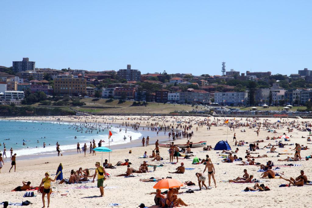 beach, summer, Sydney, Australia