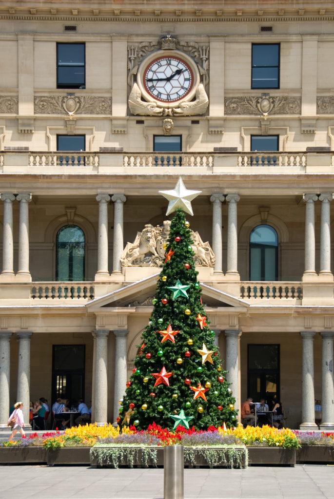 Christmas, Xmas, Sydney, Australia, summer, Xmas tree