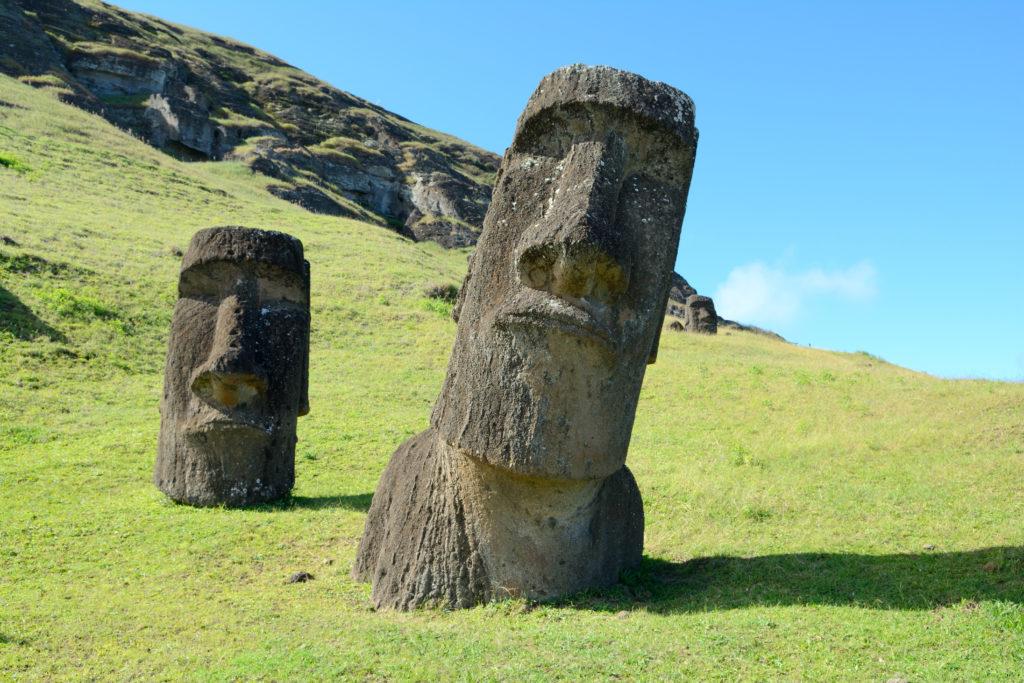 Rapa Nui, Osterinsel, Moai, Gras, Statuen, Kultur, Isla de Pascua