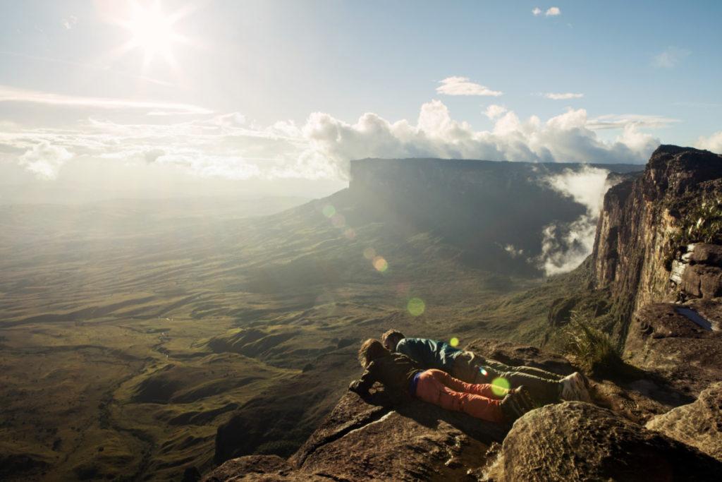 Mountains, Sunburst, Couple, Friendship, Achievement, Cavan Images