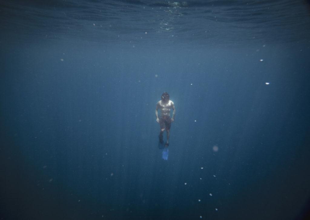 Water, Diving, Solitude, Calm, Flippers, Rising, Cavan Images