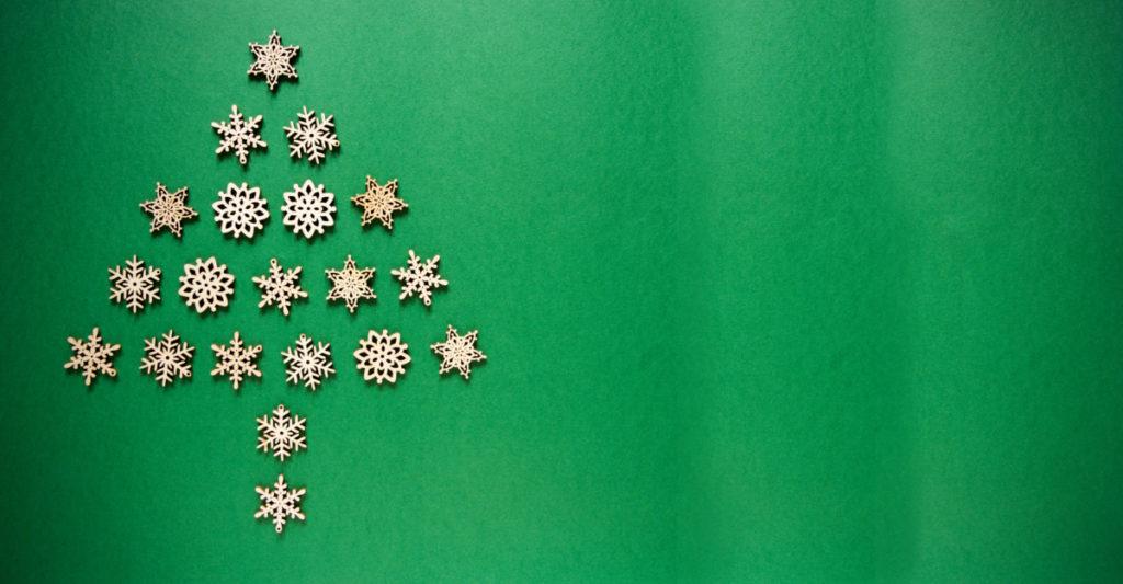 Weihnachten, weihnachtlich, Copyspace, Hintergrund, Schneeflocke