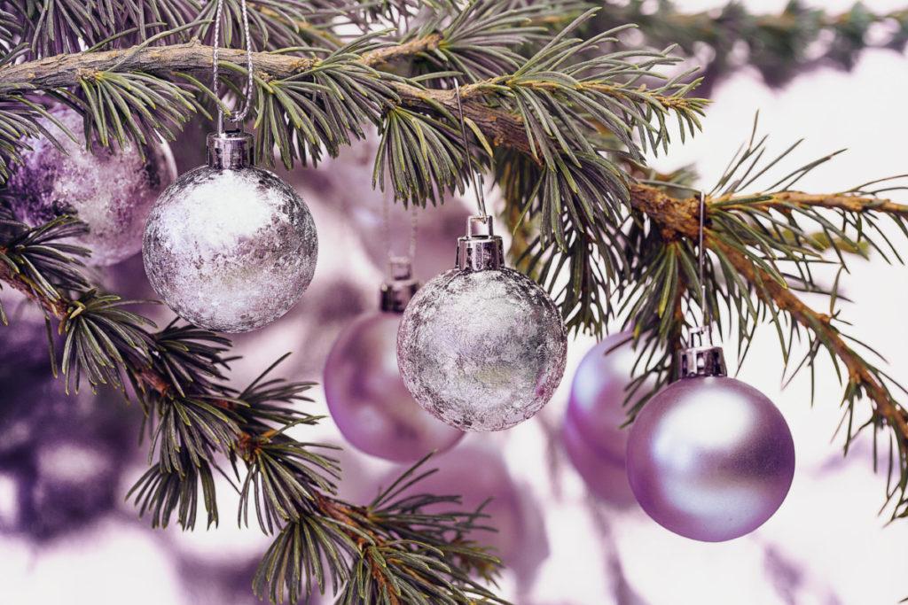 Weihnachtskugel, Tannenzweig, Weihnachtsbaum, Dekoration, Geschmackvoll