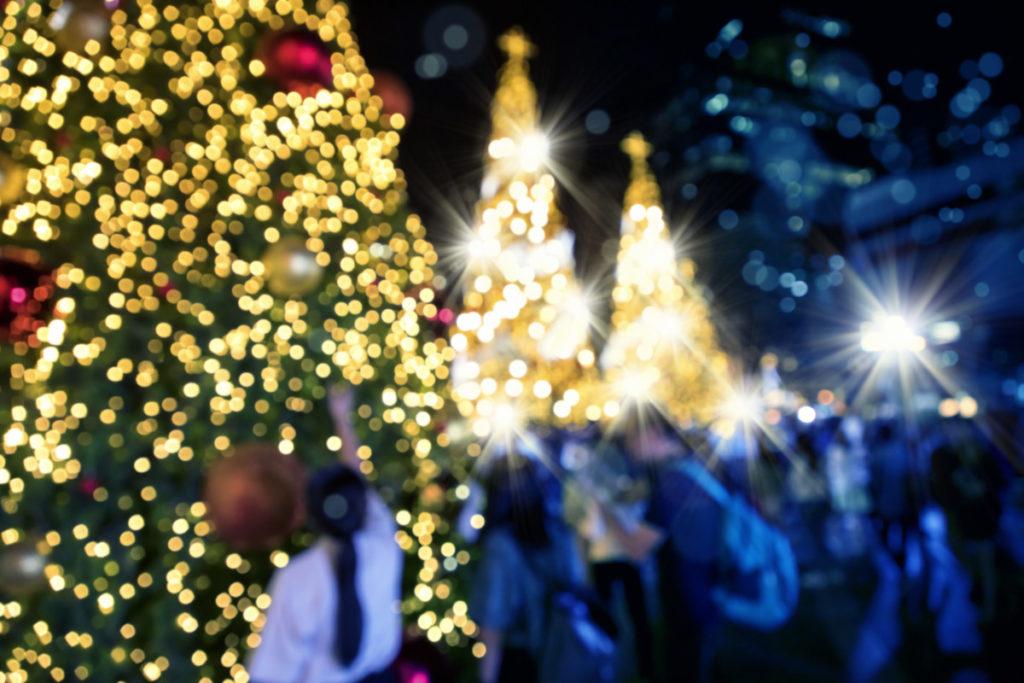 Weihnachten, Weihnachtsmarkt, Unschärfe, Frarbenfroh, weihnachtlich