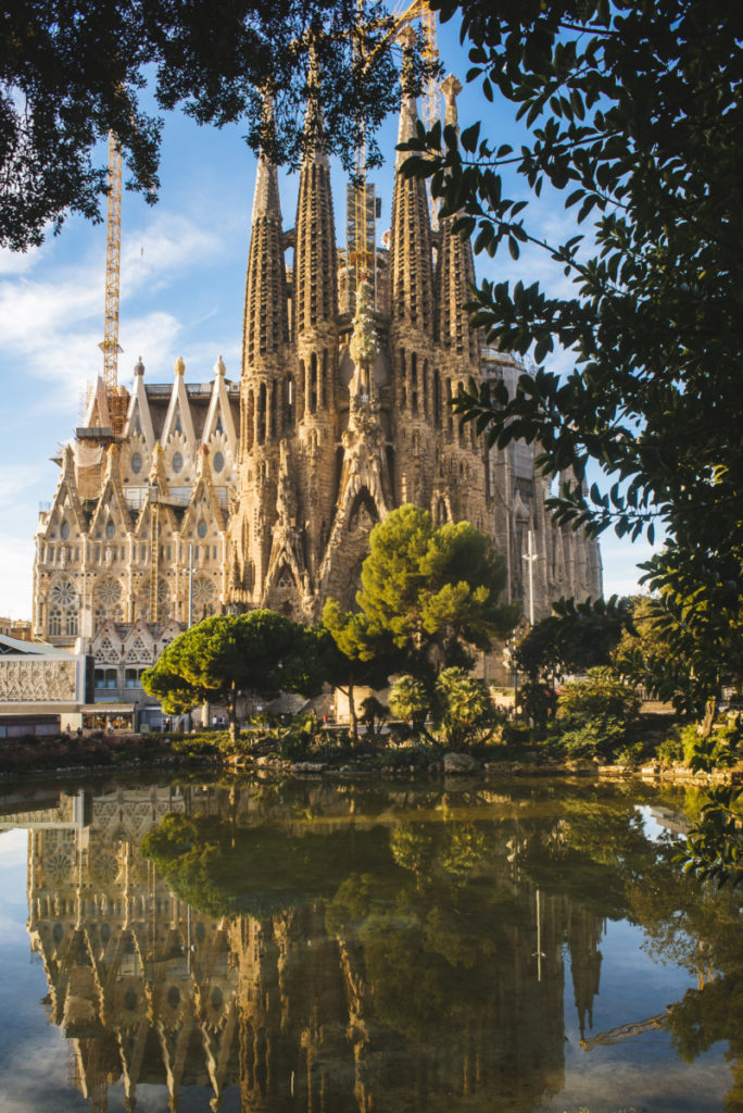 Barcelona, Catalonia, Spain, cathedral, Gaudi, royalty free