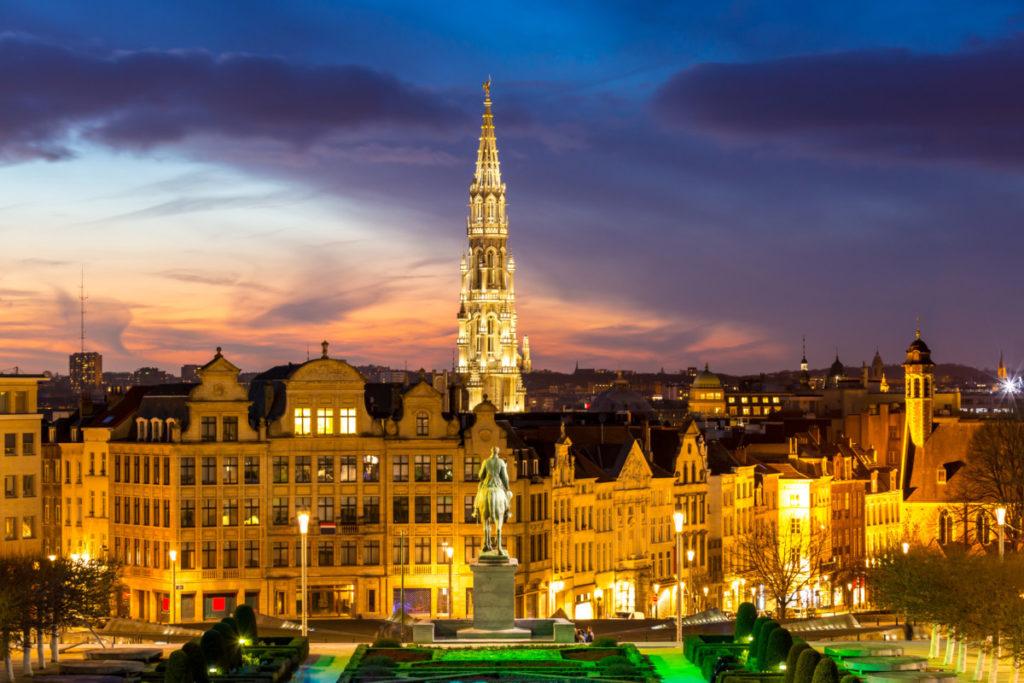 Brüssel, Belgien, Mont des Arts, Kunstberg