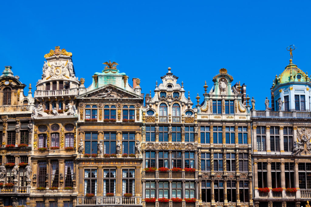 Brussels, Belgium, Grand Place, guild halls
