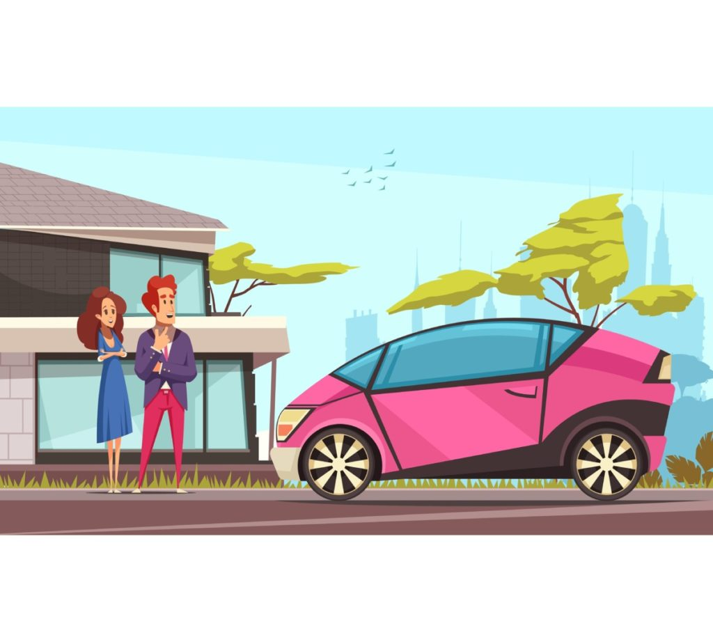modern, electric car, responsiblity, action, change, future, vector, vector illustation, Royalty Free