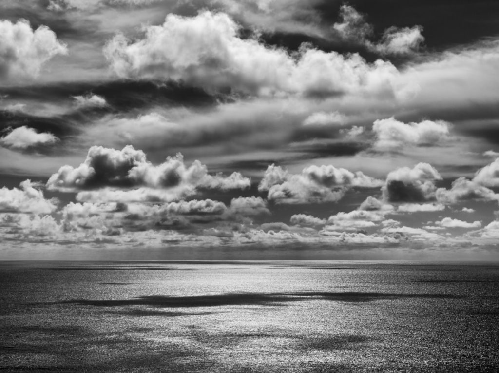 Danita Delimont Royalty Free, Black and white, sea, sky, royalty free, panthermedia, clouds