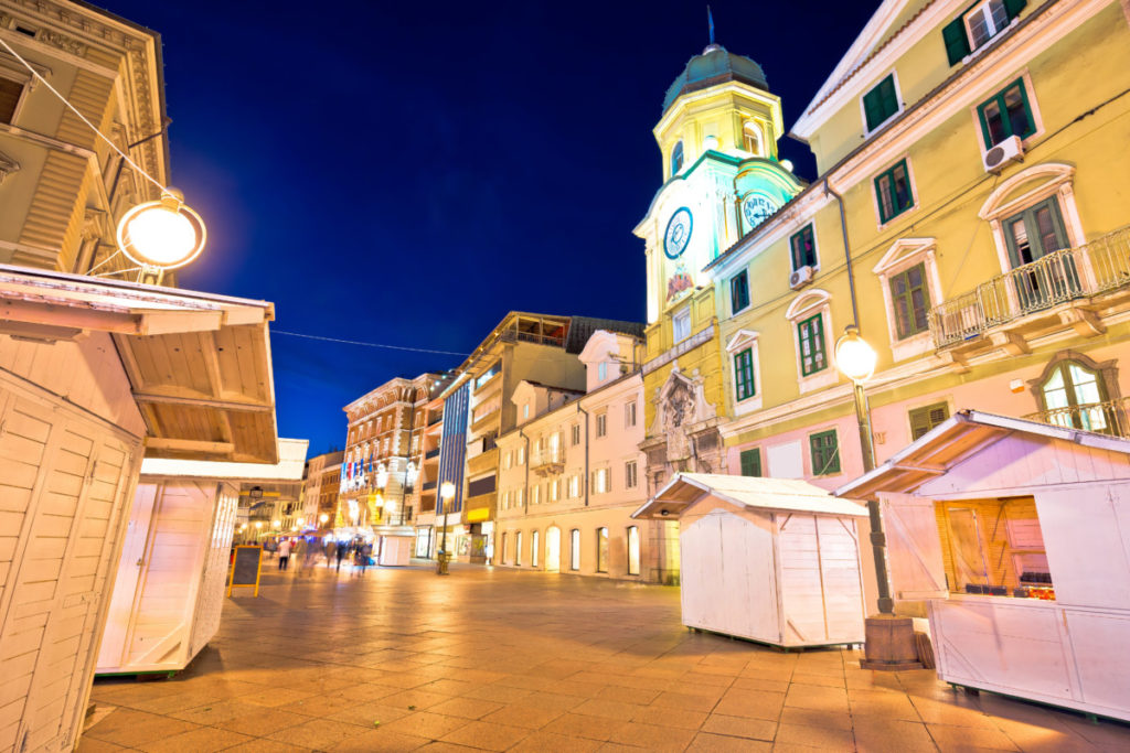 Korzo Square, Rijeka, Croatia, European Capital of Culture, Europe, EU, royalty free, photo, stockphoto, stockagency, panthermedia