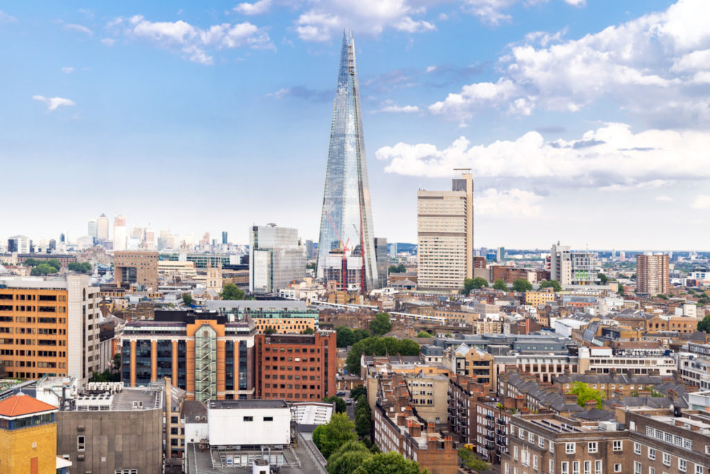 The Shard, London, UK, England, European Championship, City of Football 2020, royalty free, photo, stockphoto, stockagency, panthermedia