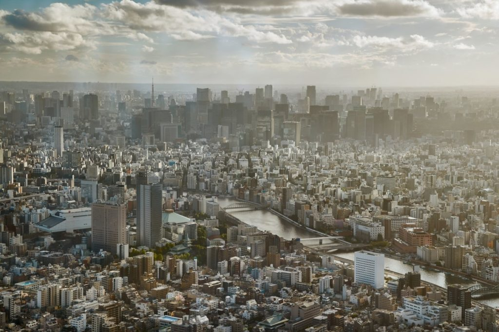 Tokyo, bird's eye view, Japan, City of Sport, 2020, Olympics, royalty free, photo, stockphoto, stockagency, panthermedia