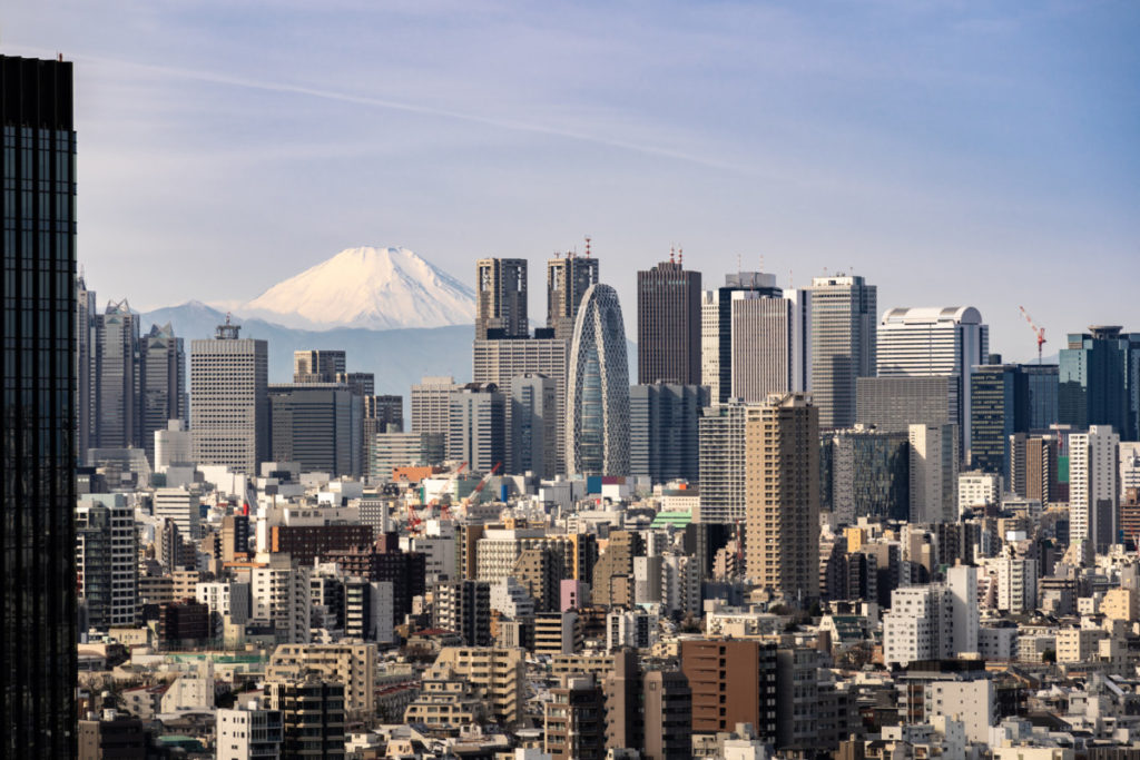 Tokyo, Mount Fuji, Japan, City of Sport, 2020, Olympics, royalty free, photo, stockphoto, stockagency, panthermedia
