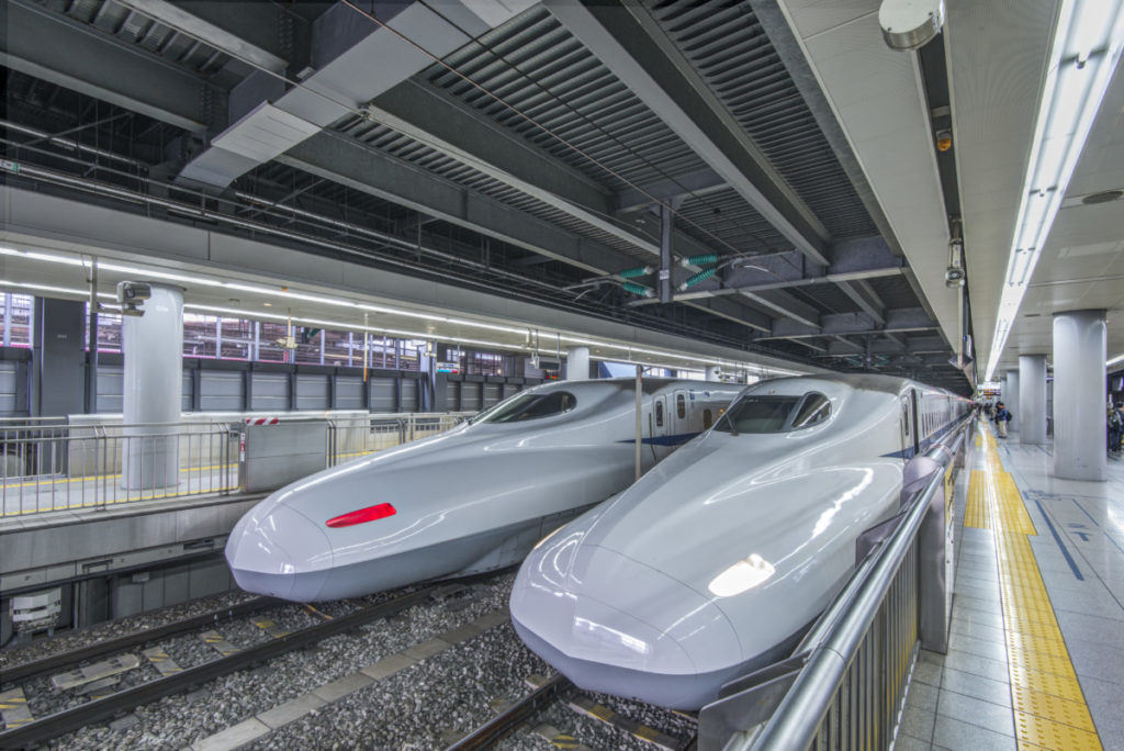 Tokyo, Shinkansen, modern, Japan, City of Sport, 2020, Olympics, hightech, royalty free, photo, stockphoto, stockagency, panthermedia