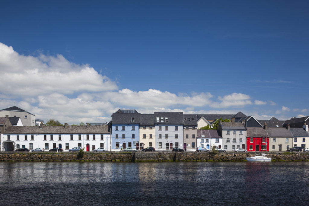 harbour buildings, The Claddagh, Galway, Ireland, European Capital of Culture, Europe, EU, royalty free, photo, stockphoto, stockagency, panthermedia