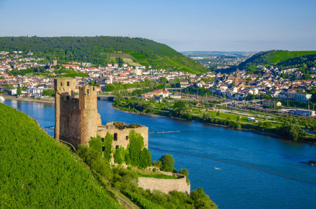 staycation,UNESCO World Heritage Site, photo, Rhine, castle, Ehrenfels, valley, summer, royalty-free, panthermedia