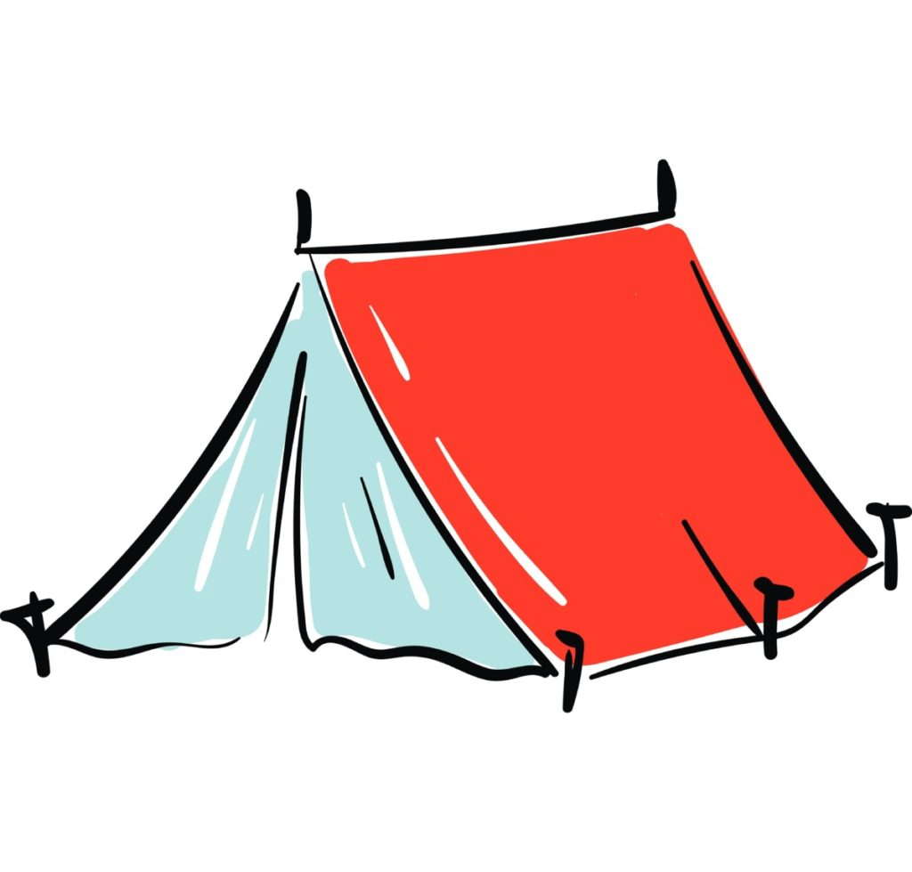 tent, camping, vector, vector file, royalty free images, picture, illustration, panthermedia