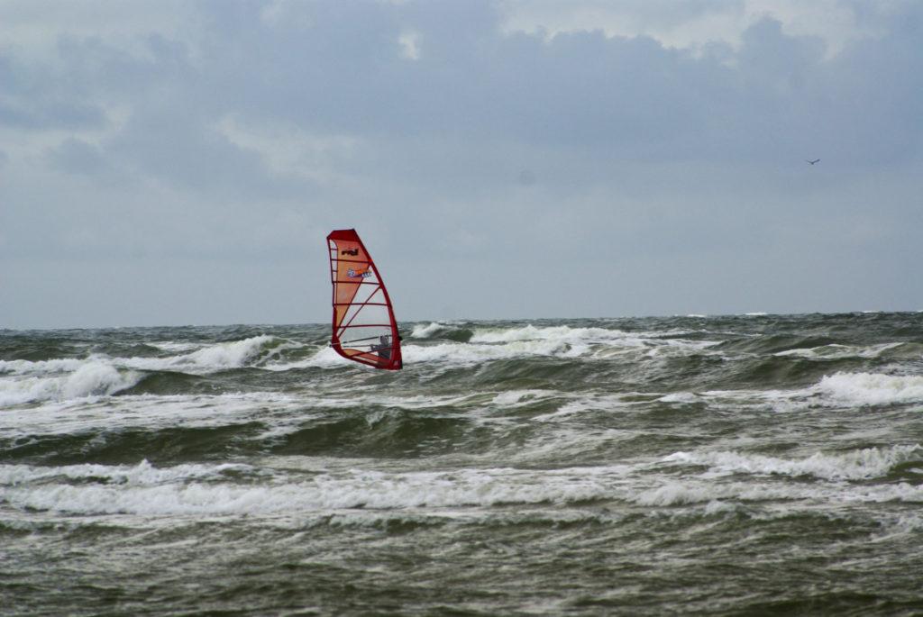 Windsurfer Römö Dänemark