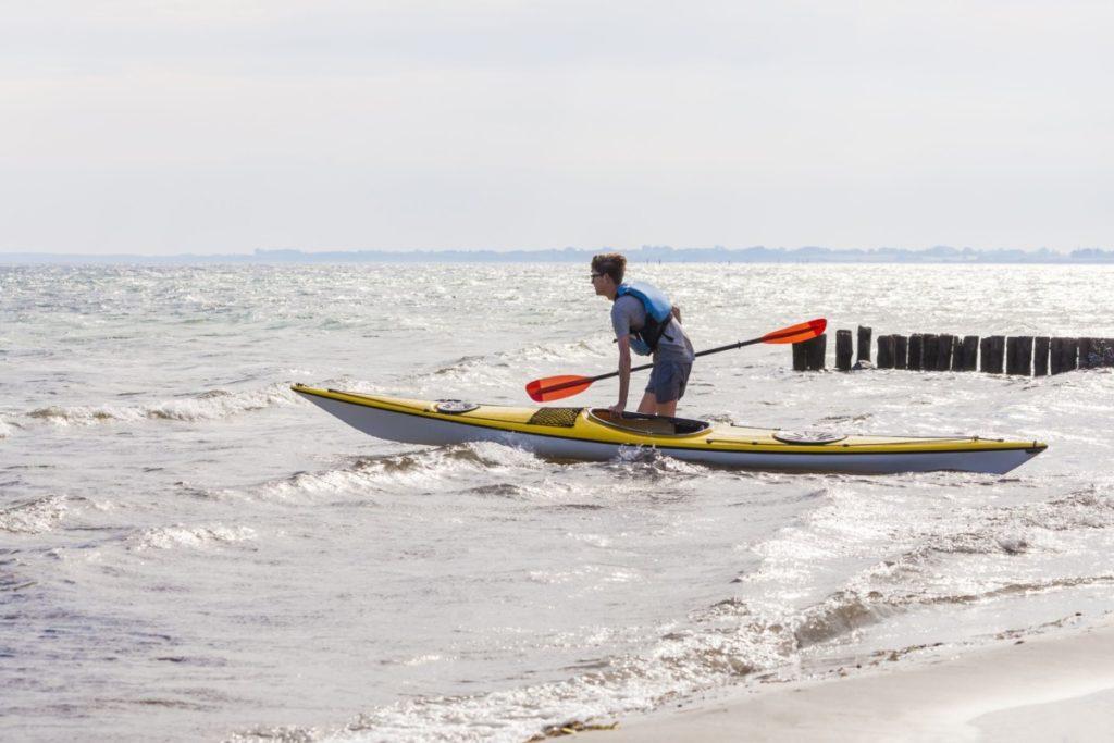 Kayak Dänemark meer wasser abenteuer