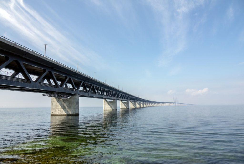 Öresundbrücke brücke dänemark schweden öresund verbindung