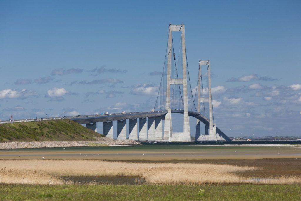 Großer Belt Storebelt Brücke Fünen Seeland Verbindung Dänemark