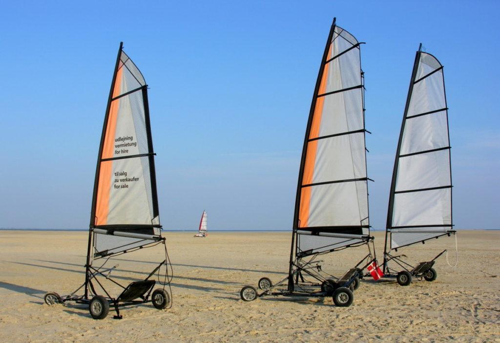 Strandsegler Römö Dänemark