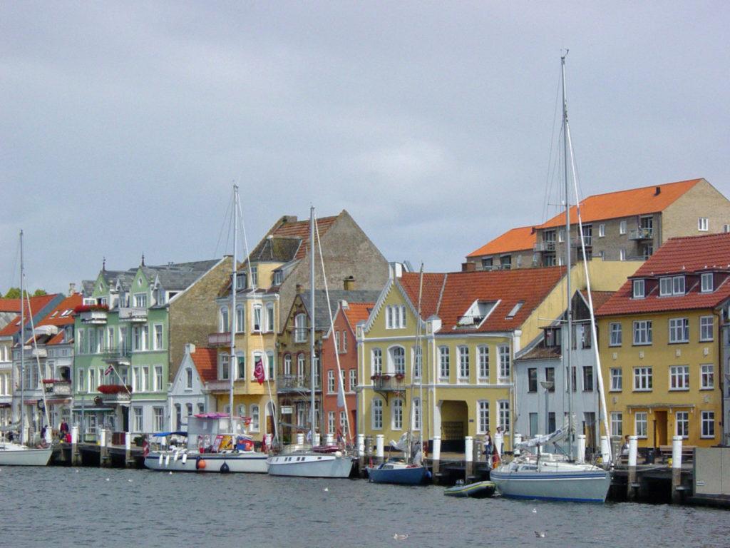 Sonderborg, Alsen, Dänemark, Hafen, Segelboote, gemütlich