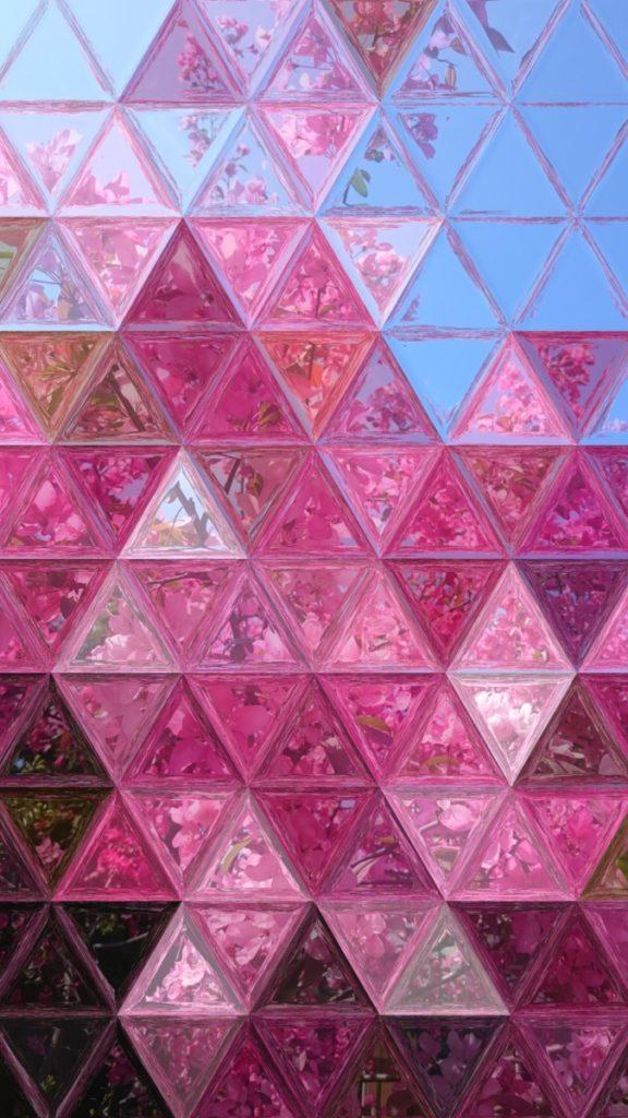 Abstraktes Kaleidoskop Bild lizenzfrei rendering farbenfroh