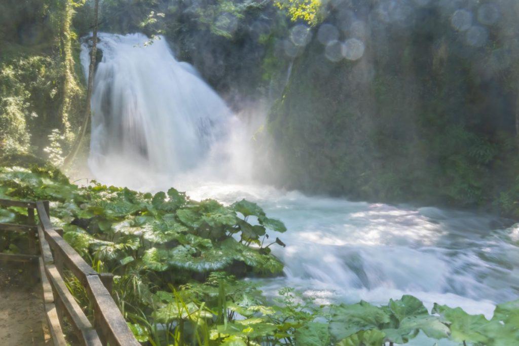 Cascata delle Marmore Umbrien Italien Wasserfall foto lizenzfre bild