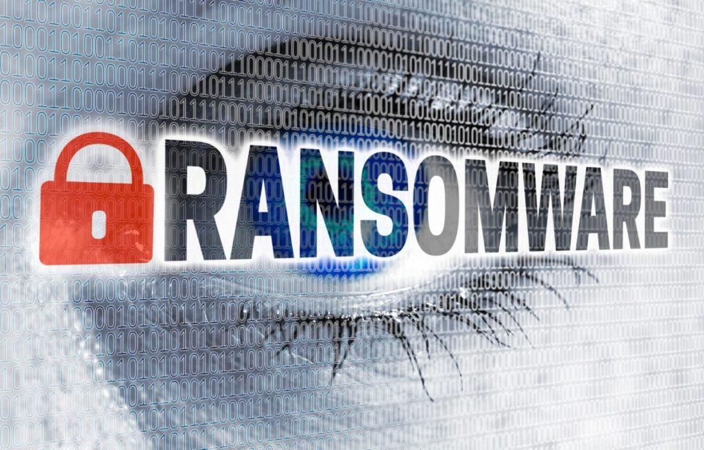 Technologie Zukunft ransomware cybersecurity hacker lizenzfreie Bilder