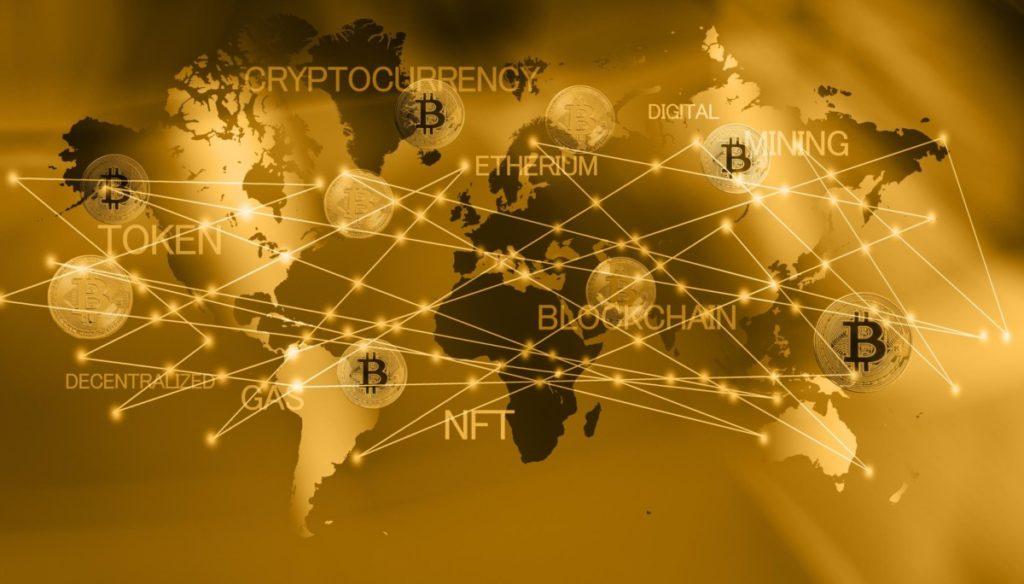 Technologie Zukunft nft bitcoin netzwerk token digital cryptowährung